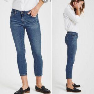 Ag Adrianno Goldschmied  Prima Crop Cigarette Jean